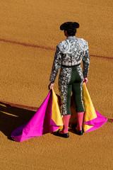 Torero con abito tradizionale
