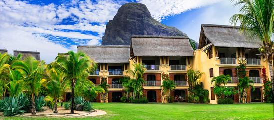 Luxury holidays in Mauritius island.