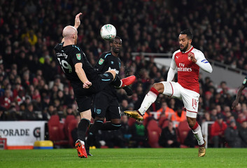 Carabao Cup Quarter Final - Arsenal vs West Ham United