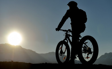 bicycle sports, reconnaissance, landscape and health