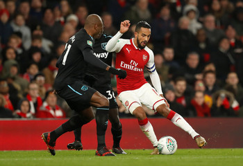 Carabao Cup Quarter Final - Arsenal vs West Ham United