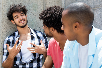 Group of students in discussion