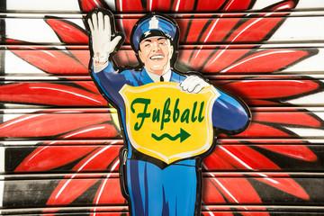 Schild 274 - Fussball