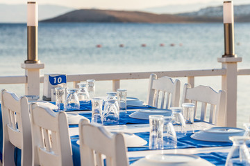 Restaurant with sea view in Bodrum