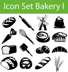 Icon Set Bakery I