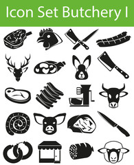 Icon Set Butchery I