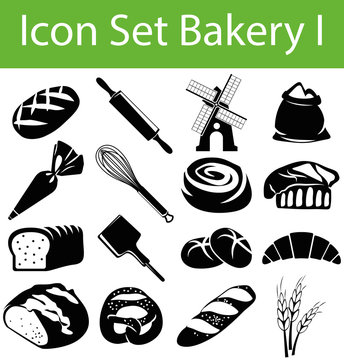 Icon Set Bakery I