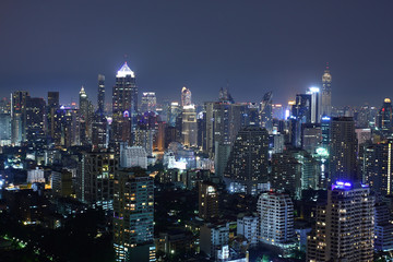 Bangkok City Night Thailand