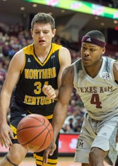 NCAA Basketball: Northern Kentucky at Texas A&M