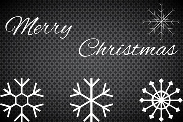 Christmas snow vector icon set.