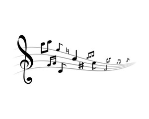 Music note ilustration