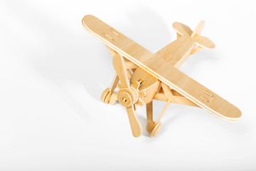toy airplane isolated