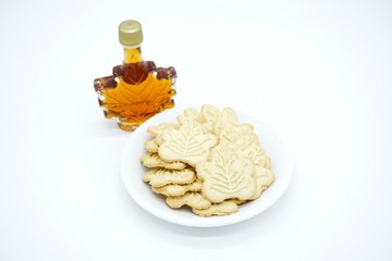 Maple syrup biscuits