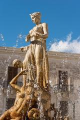 Fountain of Diana - Ortigia Syracuse Sicily Italy