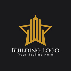 Building Logo Vector Template Design