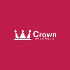 Crown Logo Vector Template Design