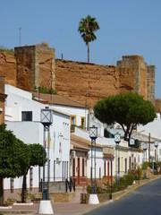 Niebla. Pueblo amurallado en Huelva (Andalucia,España)