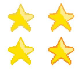 Star game pixel