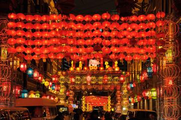 Beautiful colorful lanterns for celebrating Chinese New Year
