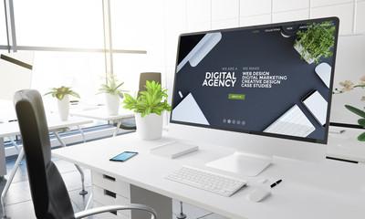 computer office digital agency