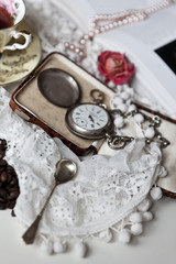 Vintage table background
