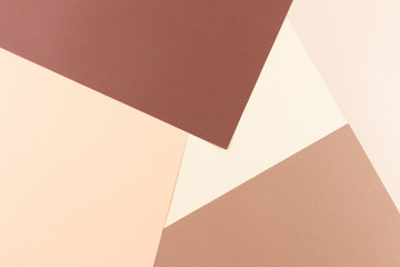 Colorful pastel soft brown and beige paper background.