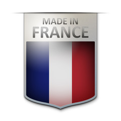 made in france badge