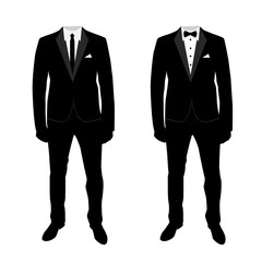 Wedding men's suit and tuxedo. Collection.