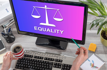 Equality concept on a computer