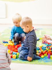 Games at the kindergarten