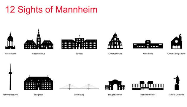 12 Sights of Mannheim
