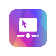Multi-Color App Button