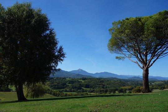 Les Pyrénées et le pic du Cagire