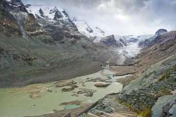 Landscape of Pasterze Glacier, Austria