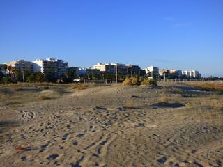 Puerto Sagunto es un núcleo del municipio de Sagunto, en la Comunidad Valenciana, España, que está ubicado en la desembocadura del río Palancia y al norte de la provincia de Valencia