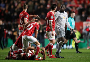 Carabao Cup Quarter Final - Bristol City vs Manchester United