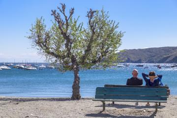 Enjoying the Coast, Cadaques, Catalonia, Spain
