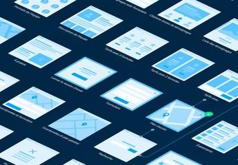 Kit organigrammes de plate-forme pour Web