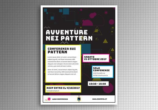 Volantino Avventure nei pattern