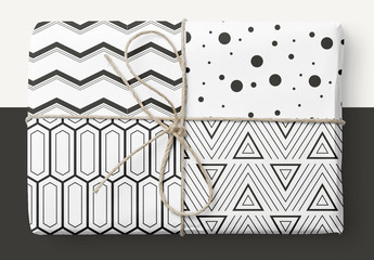 Auffälliges geometrisches Muster-Se
