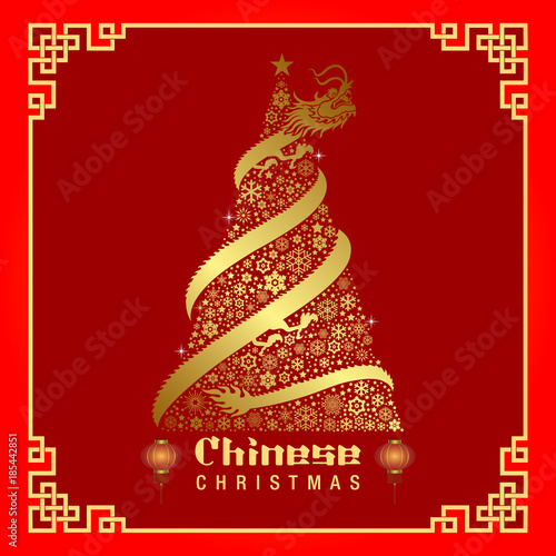 Chinese Christmas.Chinese Christmas Background Stock Image And Royalty Free