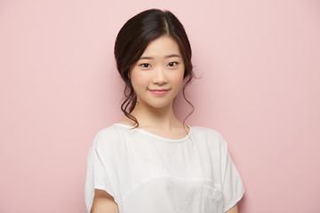 Lovely Asian girl Wall mural