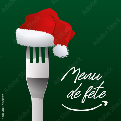 Menu Reveillon De Noel.Menu De Fete Noel Repas De Noel Reveillon Carte