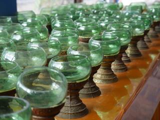 タイ 寺 柱