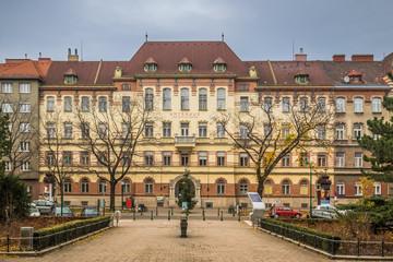 Amtshaus Brigittenau am Brigittaplatz in Wien, Österreich