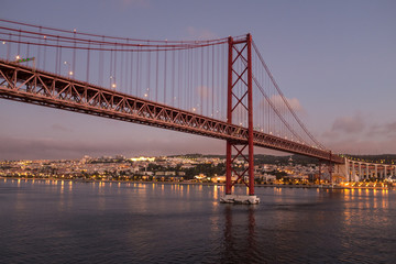 Ponte 25 de Abril Bridge Lisboa Portugal