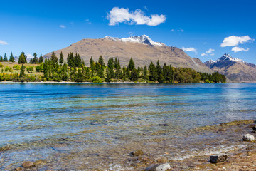 Lake, South Island, Queenstown, New Zealand