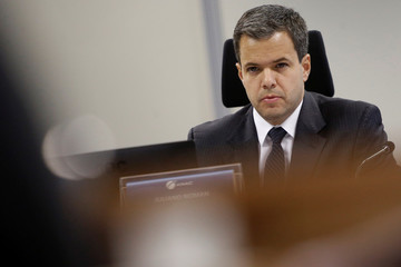 Director of Brazil's National Civil Aviation Agency (ANAC), Juliano Noman is seen during an interview with Reuters in Brasilia