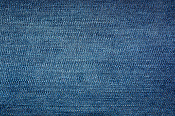 Texture of blue denim