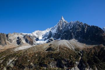 Die herbstliche Bergwelt des Wallis